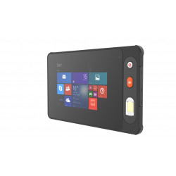 IP65 windows8.1 8 inch 2D barcode rugged tablet